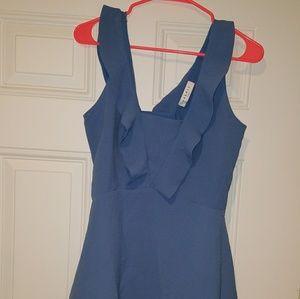 Sandro Paris blue dress size 3 new